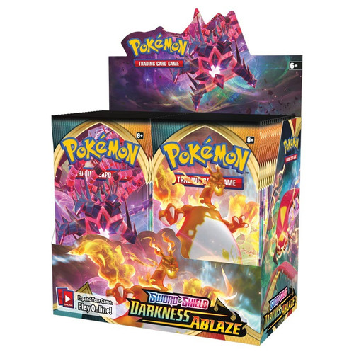 Pokemon TCG: Boosters and Booster Boxes - Sword & Shield 03 - Darkness Ablaze Booster Box (36)