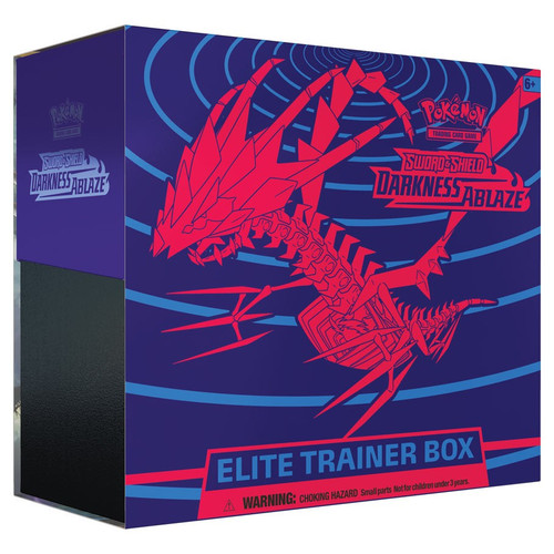 Pokemon TCG: Trainer Boxes and Special Items - Sword & Shield 03 - Darkness Ablaze Elite Trainer Box