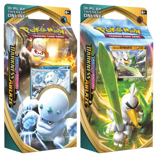 Pokemon TCG: Decks and Starters - Sword & Shield 03 - Darkness Ablaze Theme Deck
