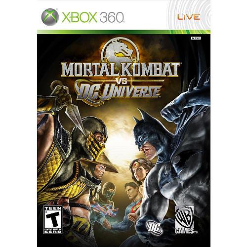 Xbox 360: Video Game - Mortal Kombat vs. DC Universe