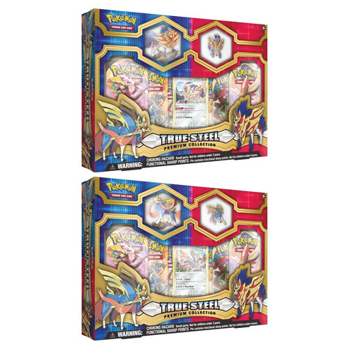 Pokemon TCG: Trainer Boxes and Special Items - True Steel Premium Collection