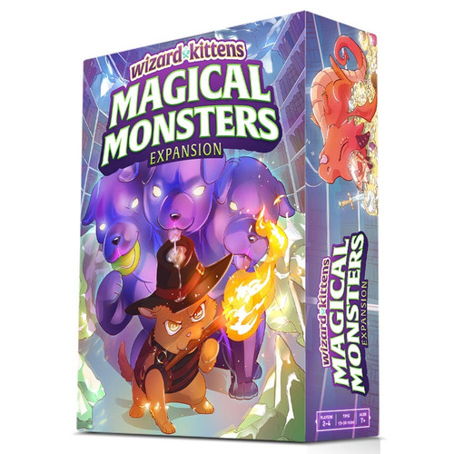 Card Games: Staff Recommendations - Wizard Kittens: Magical Monsters