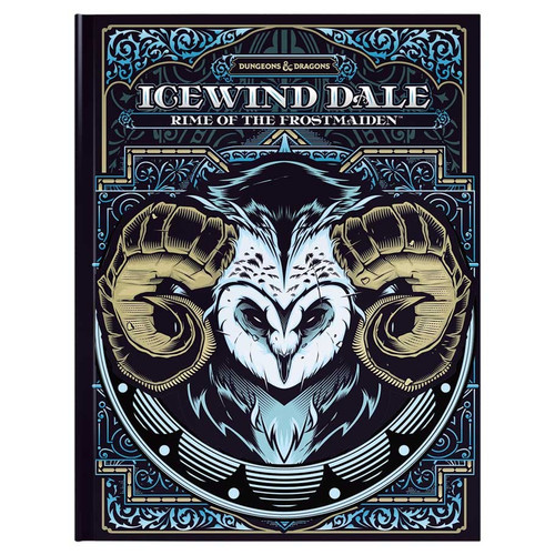 Dungeons & Dragons: Books - Icewind Dale: Rime of the Frostmaiden - Alternate Cover