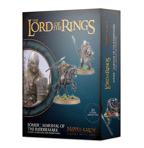 Middle Earth Strategy Battle Game: Eomer Marshal Of The Riddermark