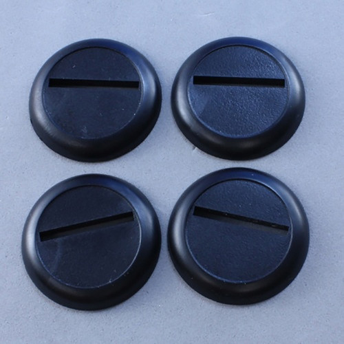 Basing Material and Textures: Accessories: 30mm Round Plastic Display Base (12)