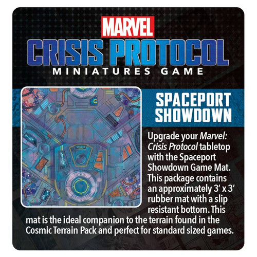 Marvel: Crisis Protocol: Spaceport Showdown Cosmic Game Mat