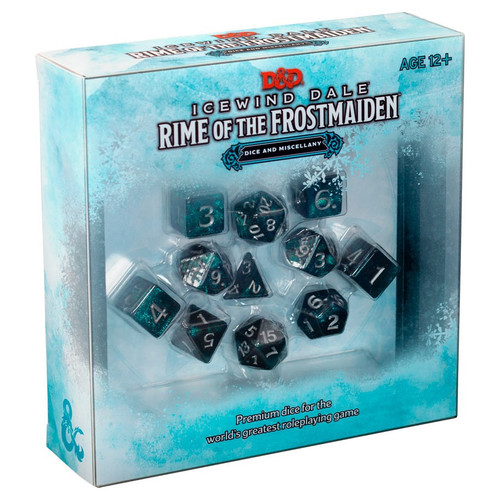 Dice and Gaming Accessories Game-Specific Dice Sets: Icewind Dale - Rime of the Frostmaiden Dice Set