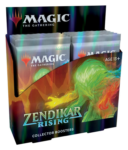 Magic The Gathering Sealed: Zendikar Rising - ZNR Collector Booster Display (12)