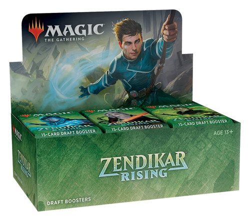 Magic The Gathering Sealed: Zendikar Rising - ZNR Draft Booster Display (36)