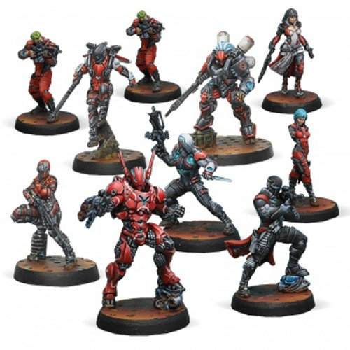 Infinity: Nomads - Nomads Action Pack