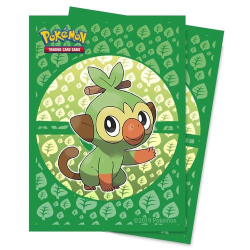 Card Sleeves: Other Printed Sleeves - Pokemon Grookey Deck Protector Pack (65)