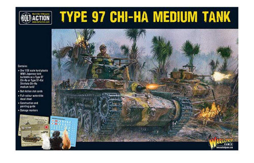 Bolt Action: Chi-Ha Japanese Tank