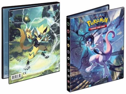 Pokemon TCG: Accessories - Pokemon: Sun & Moon 10 4-Pocket Portfolio