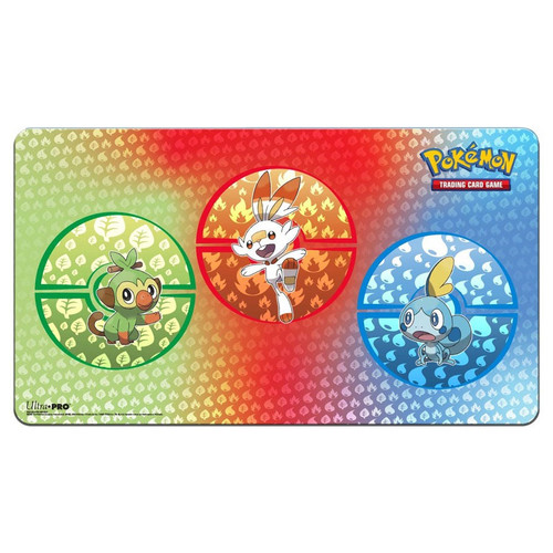 Pokemon TCG: Accessories - Pokemon: Sword & Shield Galar Starters Playmat