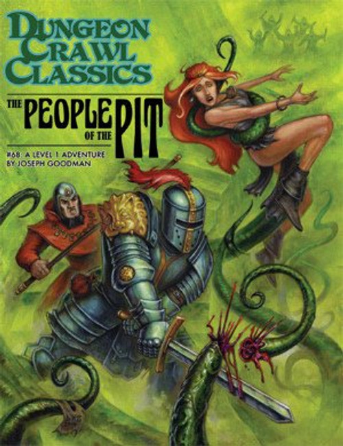 Dungeon Crawl Classics/GG: Dungeon Crawl Classics: #68 The People of the Pit