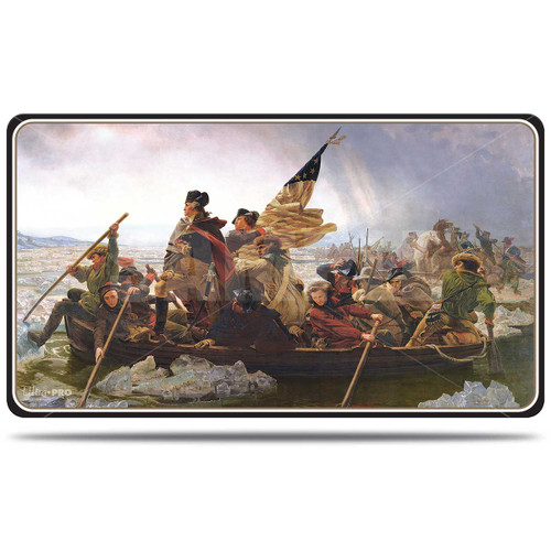 Playmats: Other Printed Playmats - Fine Art Playmat - Washington Crossing The Delaware
