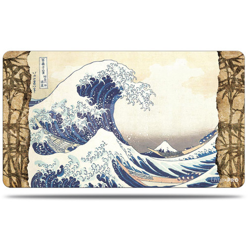 Playmats: Other Printed Playmats - Fine Art Playmat - The Great Wave Off Kanagawa