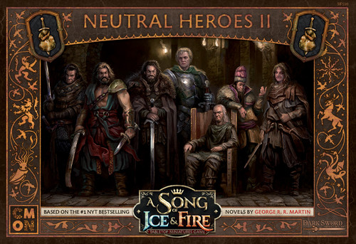 A Song of Ice & Fire Tabletop Miniatures Game: Neutral Heroes #2