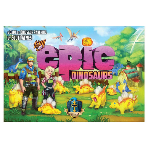 Board Games: Tiny Epic - Tiny Epic Dinosaurs