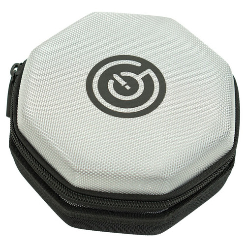 Dice and Gaming Accessories Dice Towers and Trays: Dice Case with Tray - Grey/Black
