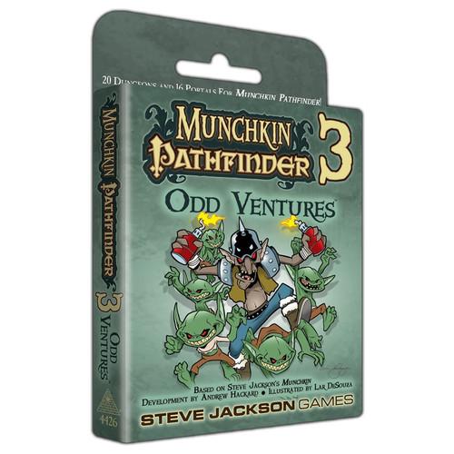 Munchkin: Munchkin Pathfinder 3 - Odd Ventures