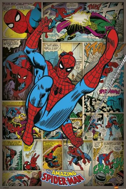 Posters: Spider-Man - Retro