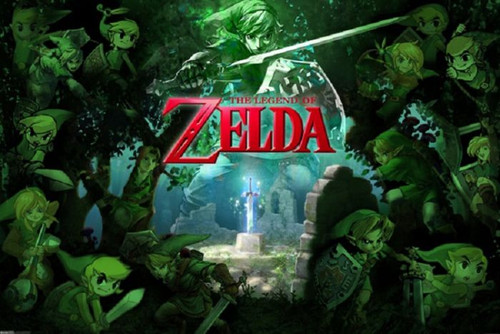 Posters: Zelda - Green Forest