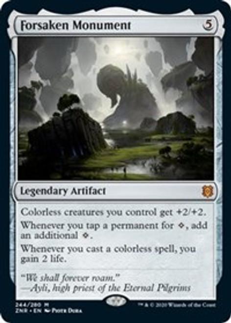 Forsaken Monument [Foil] - Zendikar Rising