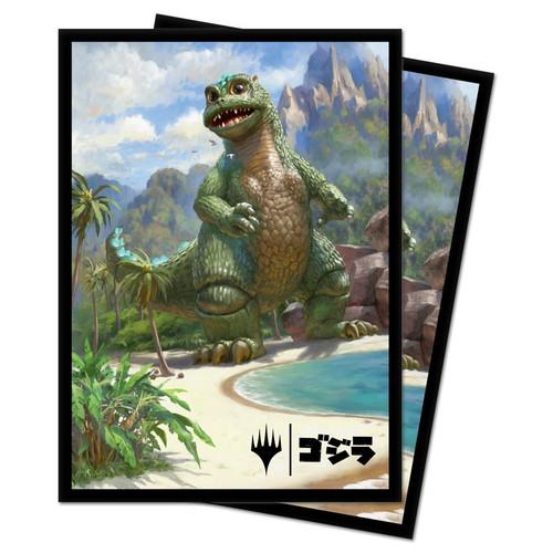 Card Sleeves: MTG Sleeves - Babygodzilla, Ruin Reborn Sleeves (100)