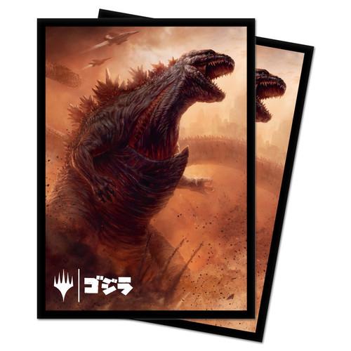 Card Sleeves: MTG Sleeves - Godzilla, Doom Inevitable Sleeves (100)