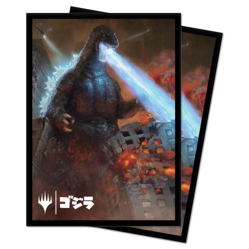 Card Sleeves: MTG Sleeves - Godzilla, King of the Monsters Sleeves (100)