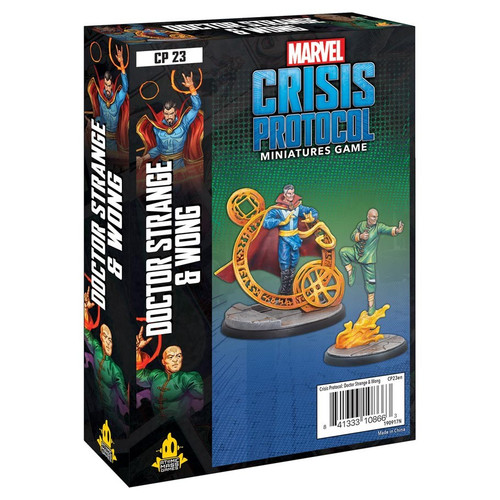 Marvel: Crisis Protocol: Doctor Strange And Wong Character Pack