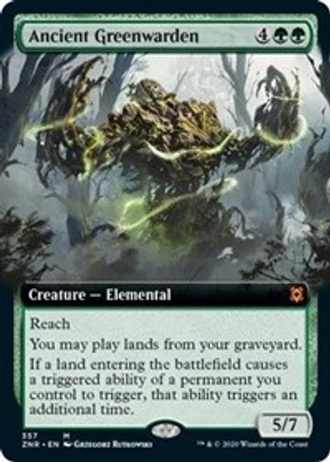 Ancient Greenwarden (Extended Art) - Zendikar Rising