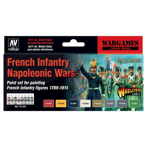 Paint: Vallejo - Paint Sets MC: WG: French Infantry Napoleonic Wars