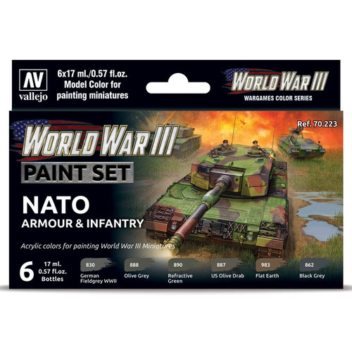 Paint: Vallejo - MC: WWIII: NATO Armour & Infantry