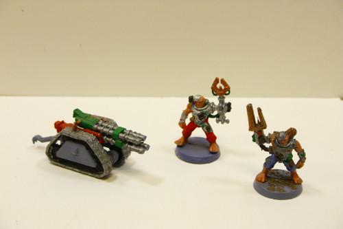 Warhammer 40k Imperial Guard Rapier with Servitors [U-B8S6 272234] [U-B8S6 272234]