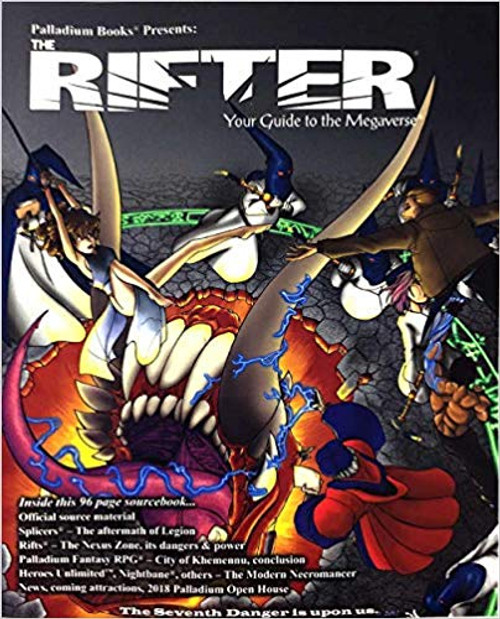 Miscellanous RPGs: Rifter: #78