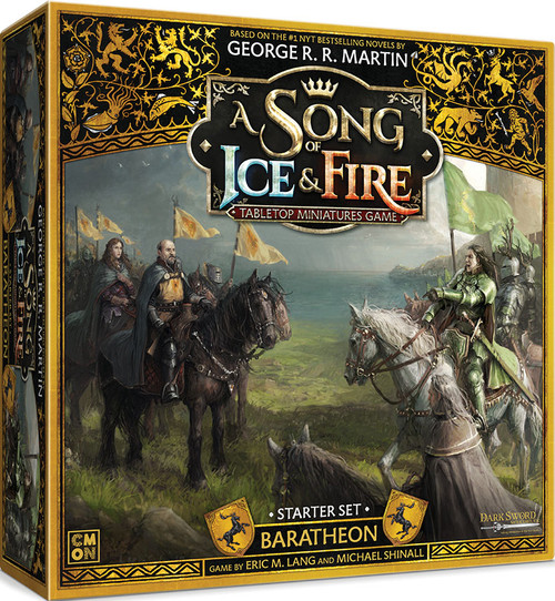 A Song of Ice & Fire Tabletop Miniatures Game: House Baratheon - Baratheon Starter Set