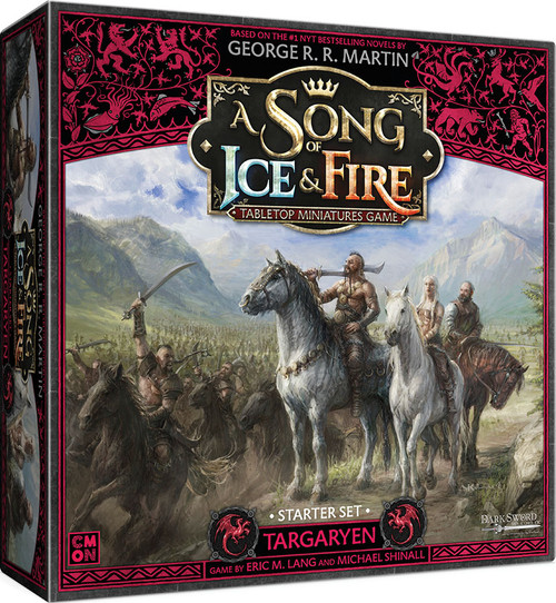 A Song of Ice & Fire Tabletop Miniatures Game: House Targaryen - Targaryen Starter Set