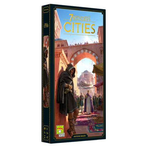 Board Games: Expansions and Upgrades - 7 Wonders New Edition: Cities Expansion
