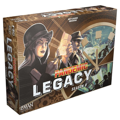 Board Games: Pandemic - Pandemic: Legacy Season 0 - Brown