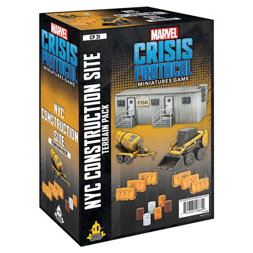 Marvel: Crisis Protocol: NYC Construction Terrain Pack