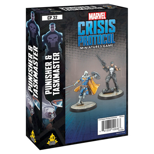 Marvel: Crisis Protocol: Punisher and Taskmaster Pack