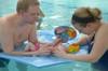 "CIRCULAR  6""  Fun Mirror™ Patented with FOAM FLOAT SEA ANIMAL STCKERS"