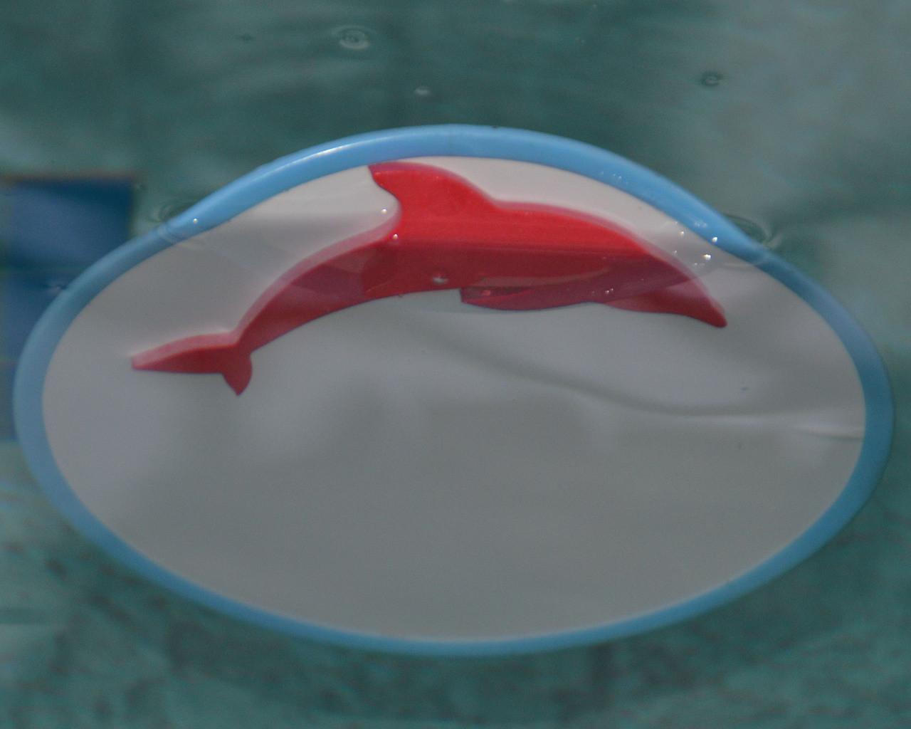"CIRCULAR 18"" Fun Mirror™ Patented With FOAM FLOAT SEA ANIMAL STICKERS"