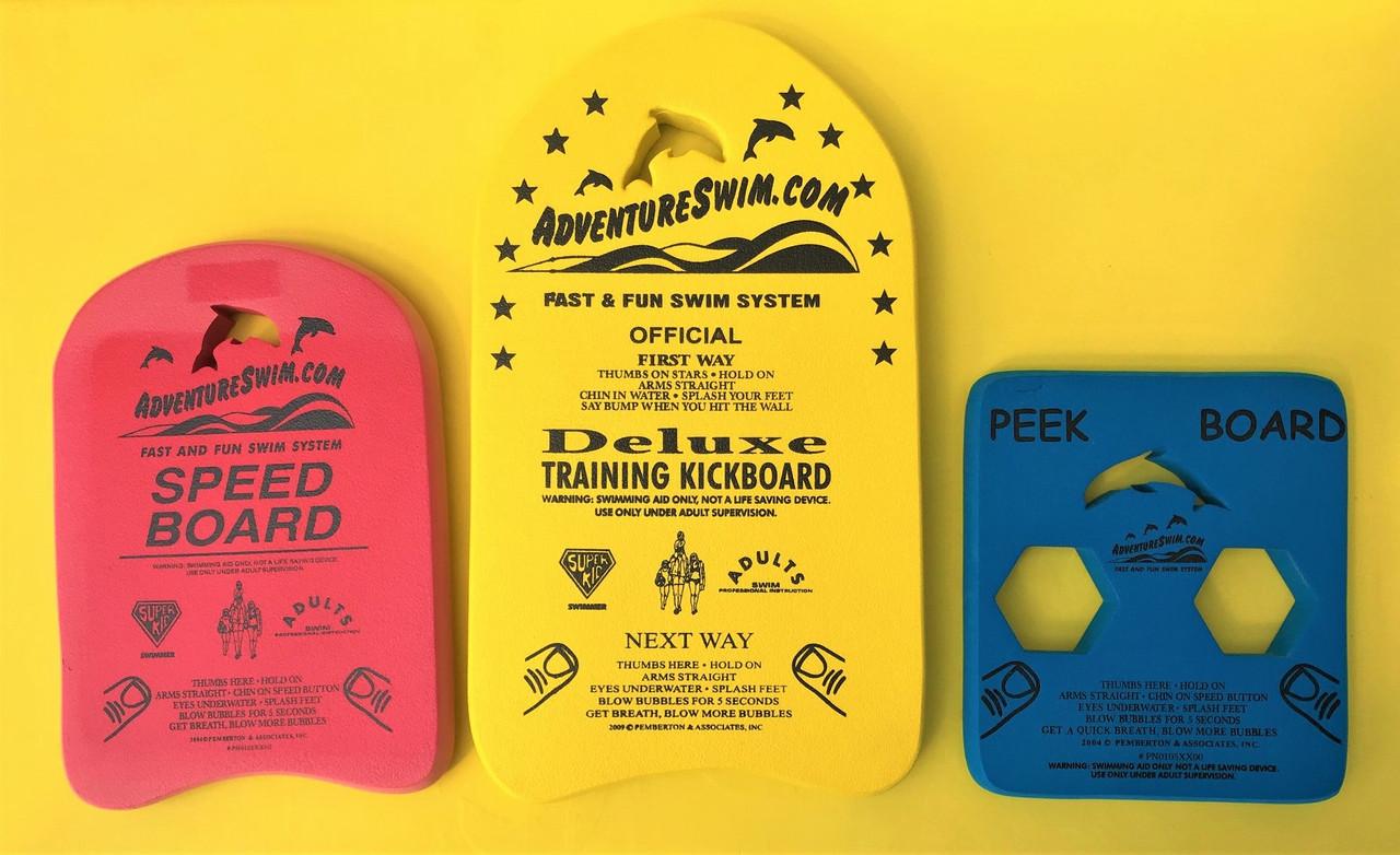 BOARD COMBO KIT 3 BOARDS (Includes Kick , Speed & Peek Boards)