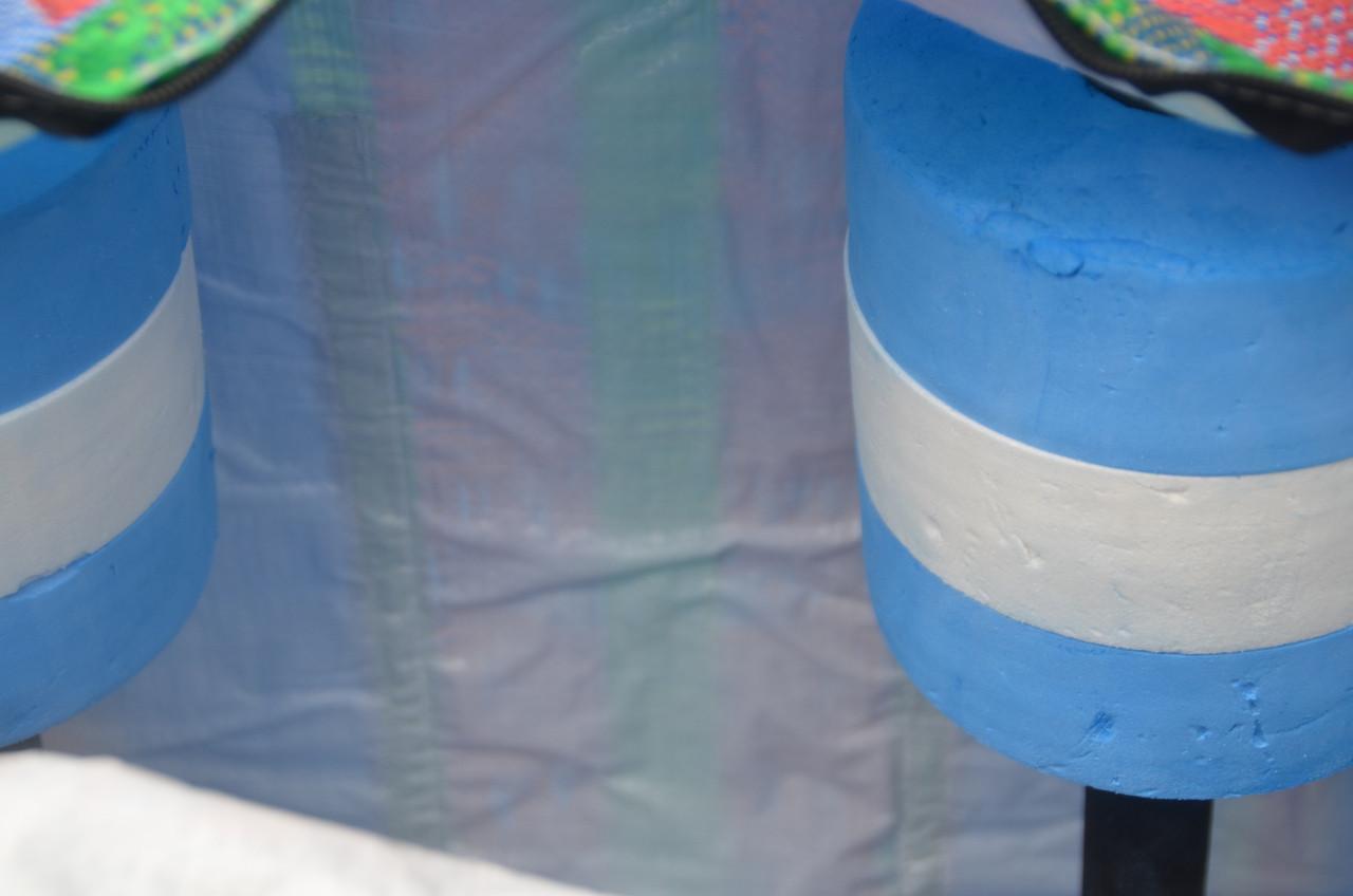 Lining makes the Bag virtually waterproof.