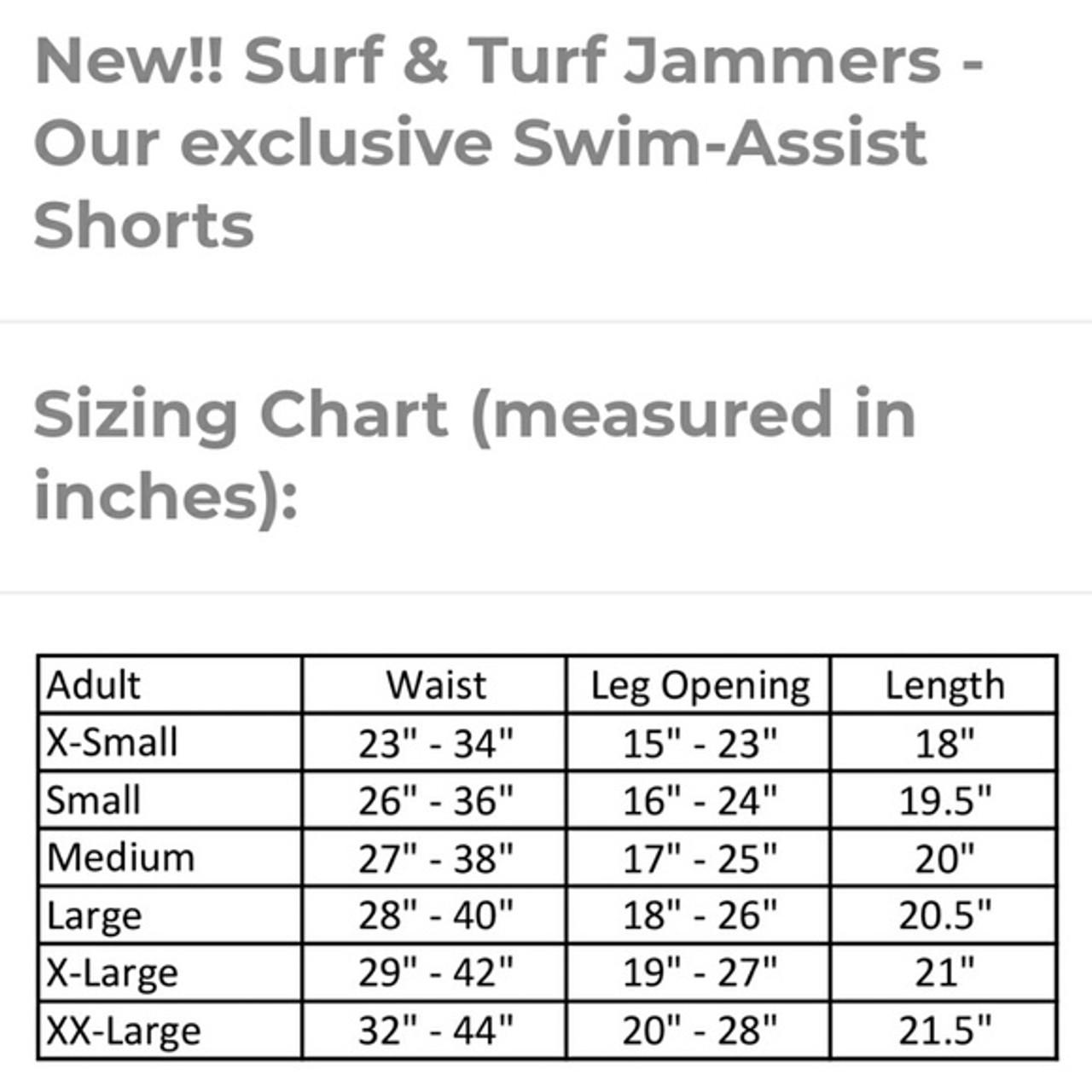 JAMMERS - Adult SURF & TURF