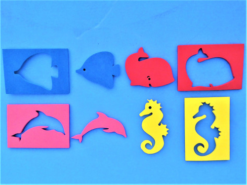 MIRROR STICKERS Foam Float - MAKE YOUR MIRRORS FLOAT !!