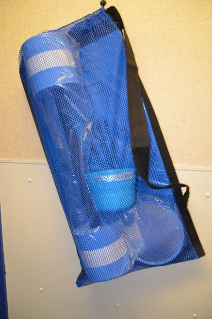 "BAG - 18"" x 24"" Mesh Bags With Shoulder Strap"